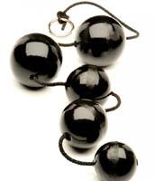 Анальные шары 5-шт. размер 1S, 2M, 2L