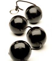 Анальные шары 4-шт. размер L. 4 - L