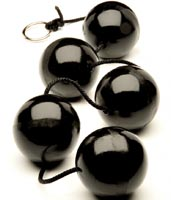 Black Anal Balls 5