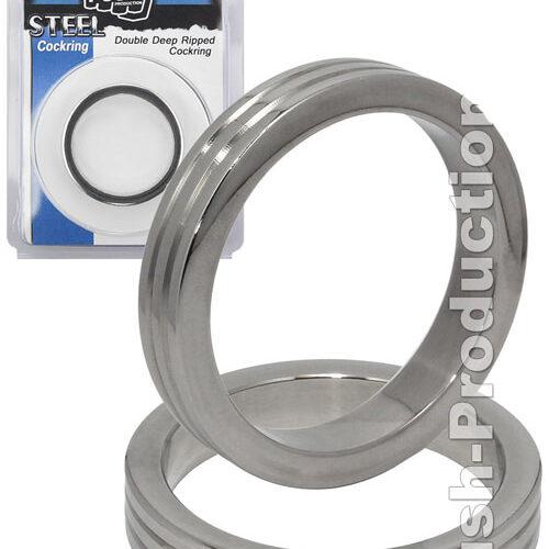 Стальное эрекционное кольцо Cock Ring