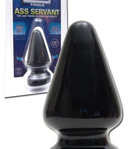 Большая анальная пробка Titanmen Ass Servant