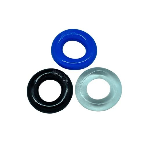 Набор из трех силиконовых эрекционных колец