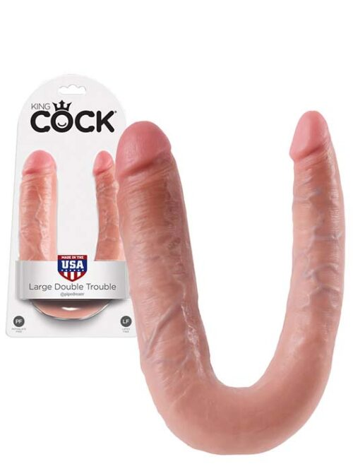 Dildo Double penetration