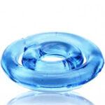 Эрекционное кольцо на член и мошонку из силикона