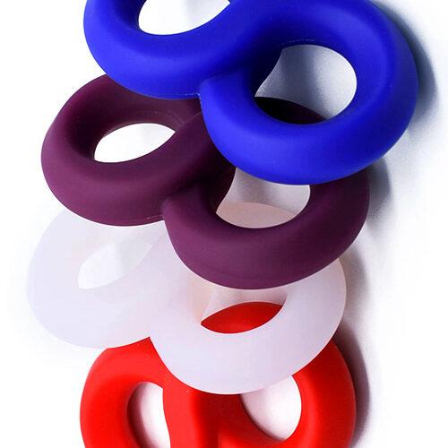 Эрекционное кольцо болстретчер на пенис и яйца