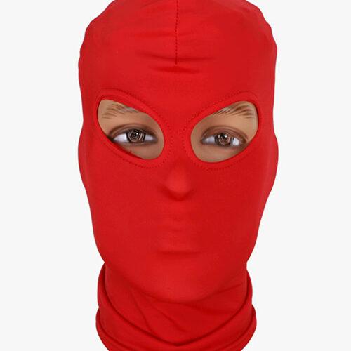БДСМ маска с открытыми глазами