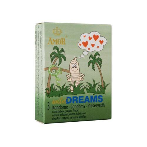 Презервативы Amor Wild Dreams 3шт