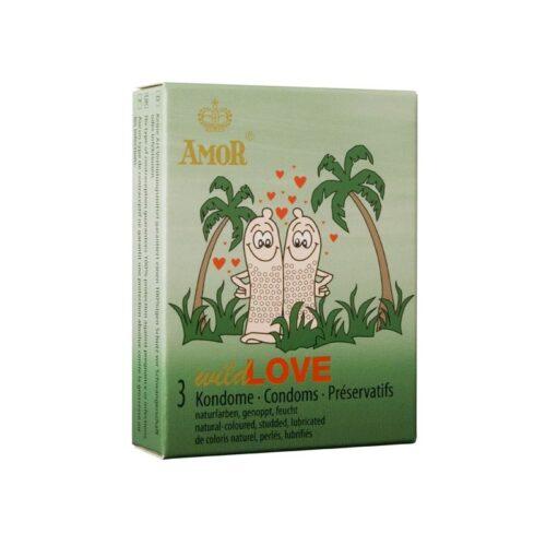 Презервативы с шипами Amor Wild Love