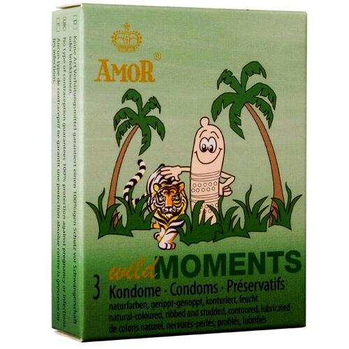 Презервативы Amor Wild Moments 3шт
