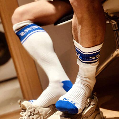 Длинные носки для гей секса с указанием роли в сексе