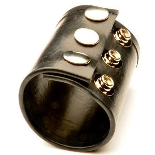 Утяжка для оттягивания мошонки 65мм. цвет черный