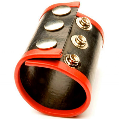 Утяжка для оттягивания мошонки 65мм. цвет красный