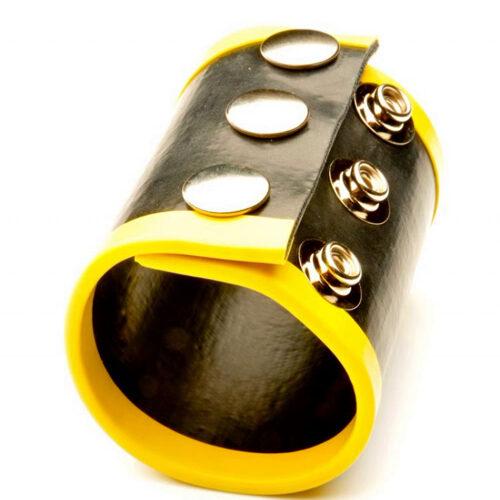 Утяжка для оттягивания мошонки 65мм. цвет желтый